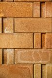 Texture of old brick wall Stock Images