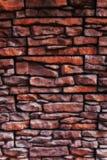 Texture of a old brick wall close up Royalty Free Stock Photos