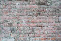 Texture old brick wall covered cement Stock Photo
