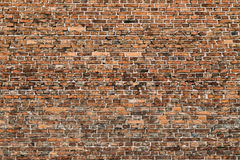 Texture of old brick wall Royalty Free Stock Photo