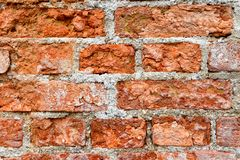 Texture of and old brick wall royalty free stock images