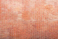 Texture of an old brick wall Royalty Free Stock Image