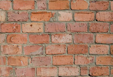 Texture of old brickwork. royalty free stock photo