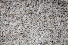 Texture of old burlap. Texture, background, scrap booking old burlap closeup Royalty Free Stock Images