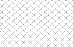 Texture the old cage metal net isolate Royalty Free Stock Image