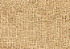 Texture old canvas. Fabric as background Royalty Free Stock Photo