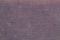 Texture of the old canvas. Texture of the dark lilac old canvas Stock Photos