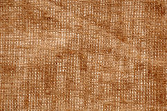 Texture old canvas fabric. Background: old woven fabric texture Stock Photo
