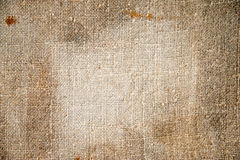 Texture old canvas fabric. background Royalty Free Stock Photography