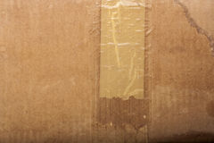Texture of old cardboard Royalty Free Stock Photography