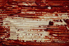 The texture of old cardboard with bloodstain Royalty Free Stock Photo