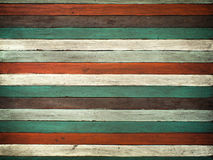 Texture of old color wood Stock Photo