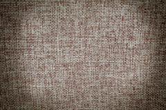 Texture of old cotton fabric Stock Photography