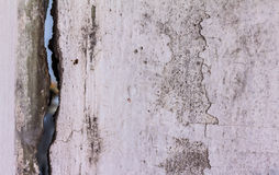 Texture old crack cement wall background Royalty Free Stock Photo