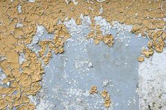 Texture of the old cracked paint Royalty Free Stock Photo