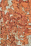 The texture of old,cracked,paint on a wooden Board. Stock Photos