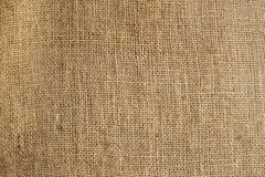 Texture of old crumpled burlap Royalty Free Stock Images