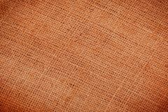 Texture of old crumpled burlap Stock Photo