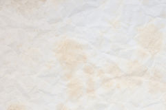 Texture of old crumpled paper for background Stock Photo