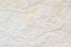 Texture of old crumpled paper Stock Image