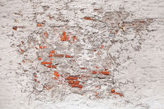 Texture of old damaged brick wall Royalty Free Stock Photos