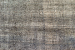 Texture of an old dark linen cloth, background Stock Photo