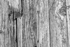 Texture of the old decayed wooden boards Stock Photos