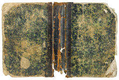 The texture of the old dilapidated book cover Royalty Free Stock Photography