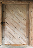 Texture of old doors Royalty Free Stock Photos
