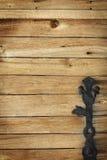 Texture of old doors Stock Photos