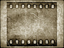 Texture with old film background Stock Image