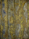 Texture of the old floor. Worn floorboards, exfoliated paint Stock Photography