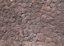 Texture of old granite wall Royalty Free Stock Photos
