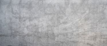 Gray concrete wall. Texture of old gray concrete wall for background stock images