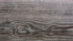 Texture of old gray weathered wooden lining board Stock Images