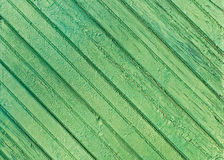 Texture of Old Green Wood Stock Photo