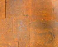 Texture of old grunge iron table background Royalty Free Stock Photography
