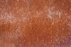 Texture of old iron covered with  rust Royalty Free Stock Photography