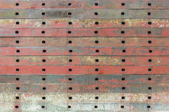 Texture of old iron plate Royalty Free Stock Photos