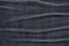 Texture of old jeans Stock Photos