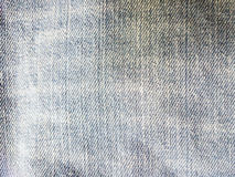 Texture of old jeans. Jean background Stock Images