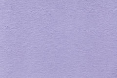 Texture of old light violet paper closeup. Structure of a dense cardboard. The lavender background Stock Image