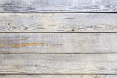 Texture of old light wooden planks. stock photo