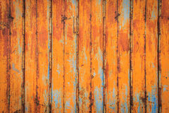 Texture of old metal sheet with rusty Stock Images