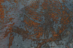 Texture of old metal surface Stock Images