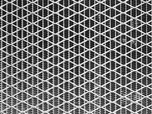 Texture of old metallic grid Stock Images