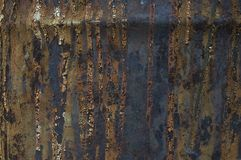 Rusted metallic surface Stock Photos