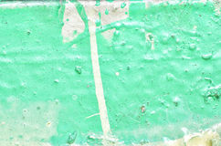 Texture of old paint turquoise Royalty Free Stock Photography