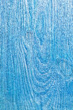 Texture of old painted blue color wooden board Stock Photo