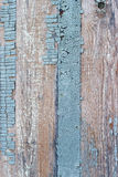 Texture of old painted in blue wood. Background Stock Photo